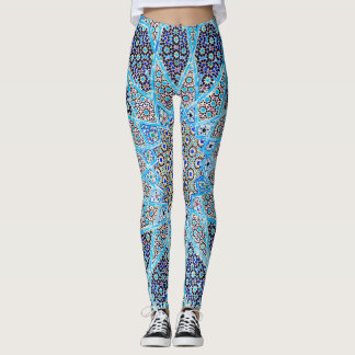 Blue Orient Leggings