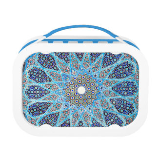 Blue Orient Lunch Box