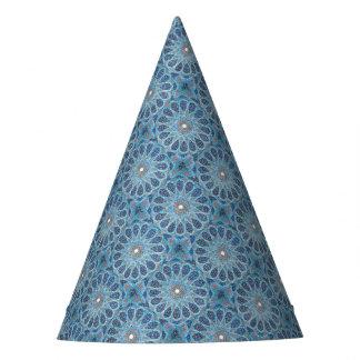 Blue Orient Party Hat