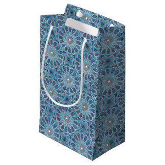 Blue Orient Small Gift Bag