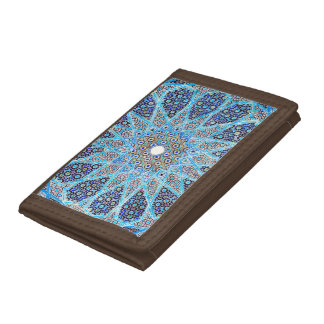 Blue Orient Tri-fold Wallet