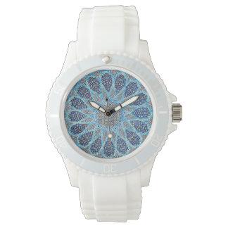 Blue Orient Wrist Watch