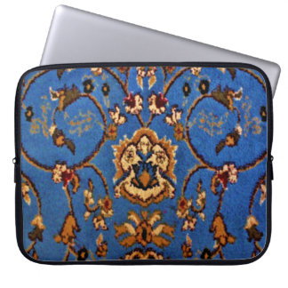 Blue Oriental Rug Laptop Sleeve