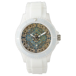 Blue Oriental Rug Watches