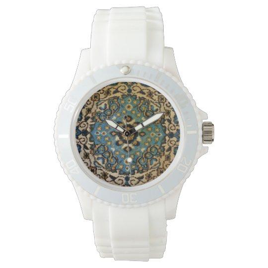 Blue Oriental Rug Watches