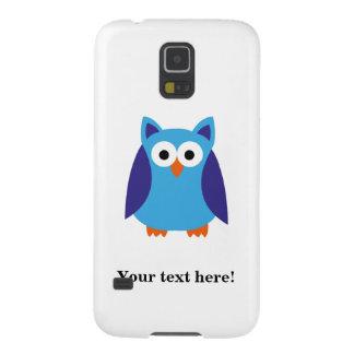 Blue owl cartoon cases for galaxy s5