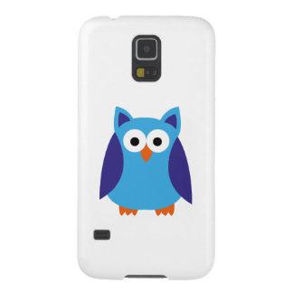 Blue owl cartoon galaxy s5 cases