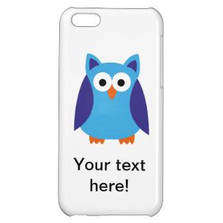 Blue owl cartoon iPhone 5C cover