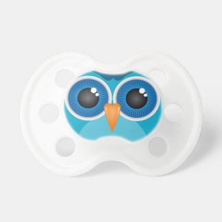 Blue Owl Face Pacifier