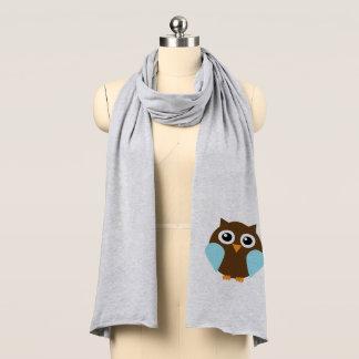 Blue Owl Scarf