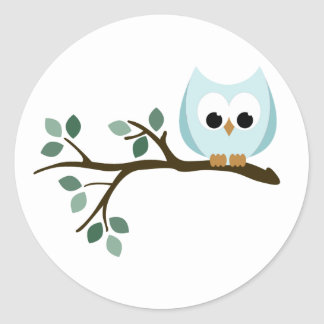 Blue Owl Stickers