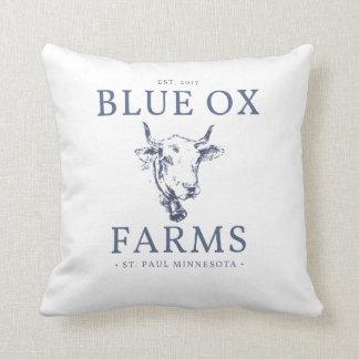 Blue Ox Farms Pillow