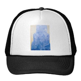Blue Pagan Church(surreal architecture) Trucker Hat