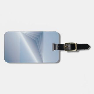 blue pages luggage tag