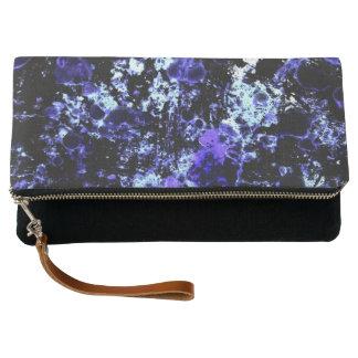 Blue Paint Clutch Bag