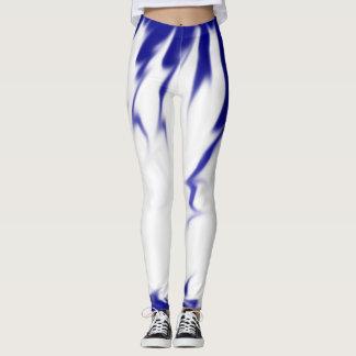 Blue Paint Spill Leggings