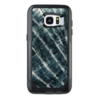 Blue Painted Wood OtterBox Samsung Galaxy S7 Edge Case