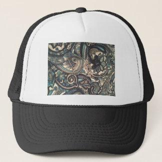 Blue Paisley Apparel Trucker Hat