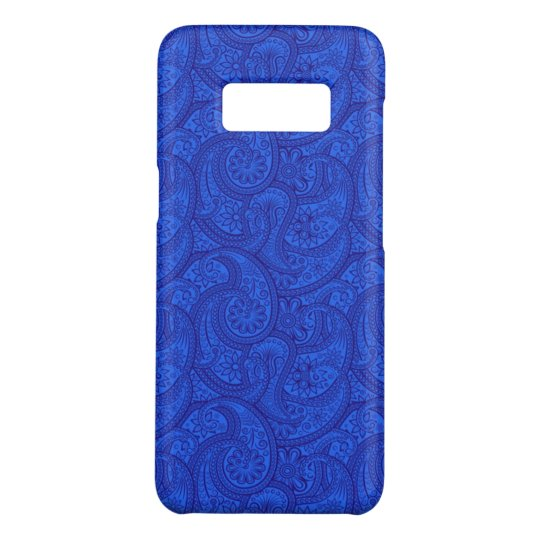Blue Paisley Case-Mate Samsung Galaxy S8 Case