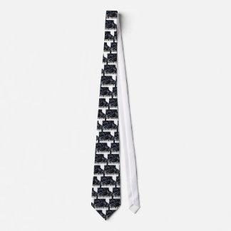 Blue Paisley Piano Tie