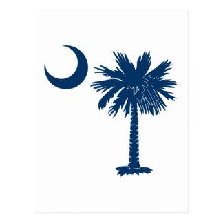 Blue Palmetto Postcard
