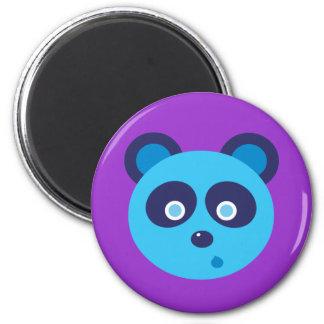 Blue Panda Magnet