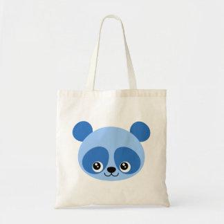 Blue Panda Tote Bag