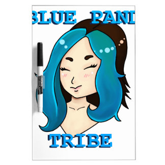 Blue Panda Tribe logo Dry-Erase Board