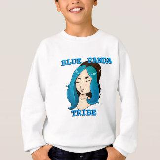 Blue Panda Tribe logo Sweatshirt