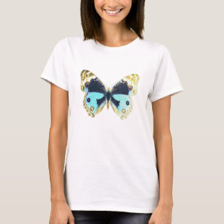 Blue Pansy Butterfly T-Shirt