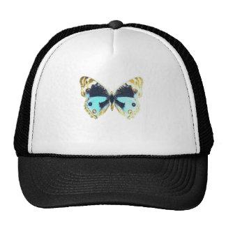 Blue Pansy Butterfly Trucker Hat