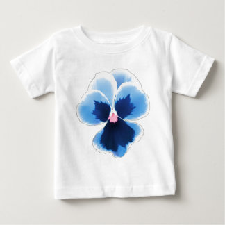 Blue Pansy Flower 201711c Baby T-Shirt