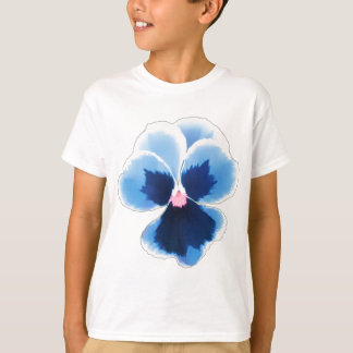 Blue Pansy Flower 201711c T-Shirt