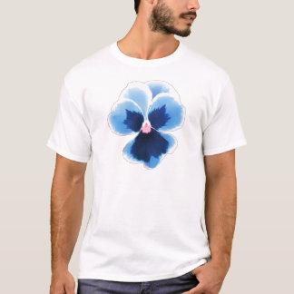 Blue Pansy Flower 201711c T-Shirt