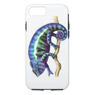 Blue Panther Chameleon iPhone Tough Case