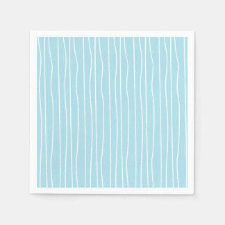 Blue Paper Napkins