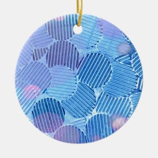 Blue Paradise Ceramic Ornament