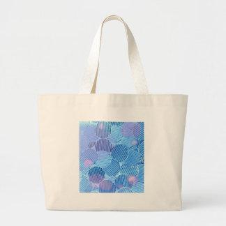 Blue Paradise Large Tote Bag