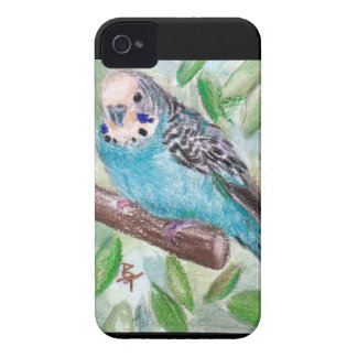 Blue Parakeet BlackBerry Bold Case