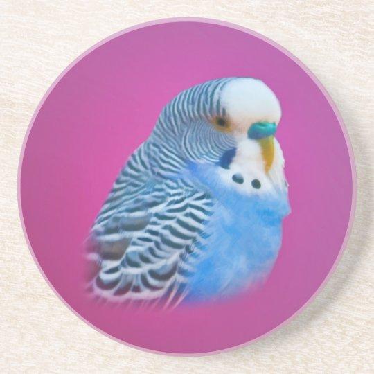 Blue Parakeet Coaster