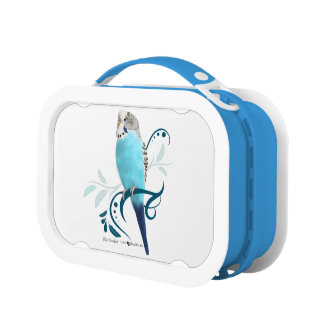 Blue Parakeet Lunchbox