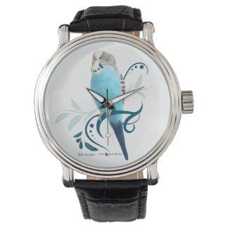 Blue Parakeet Watch