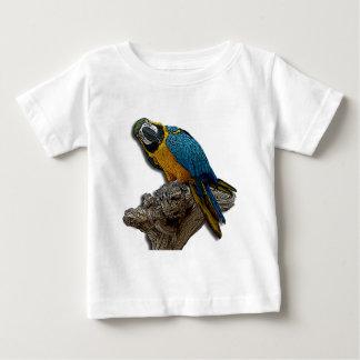 Blue Parrot alone infant t-shirt