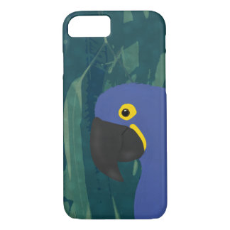 Blue Parrot Apple iPhone 7, Barely There Case