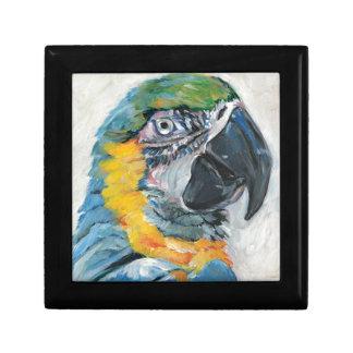 Blue Parrot Gift Box