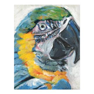 Blue Parrot Letterhead
