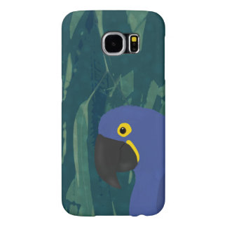 Blue Parrot Samsung Galaxy S6, Barely There Case