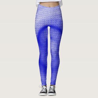 Blue Particle Spiral - Leggings