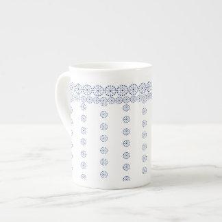 Blue pattern-1, Bone China Mug
