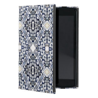 Blue Pattern Case For iPad Mini